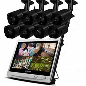 kit camaras de vigilancia wifi interior 2