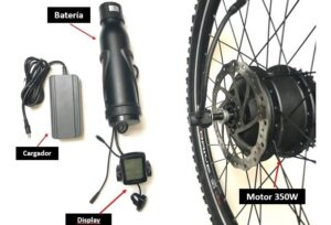 kit conversion ebike 48v 15