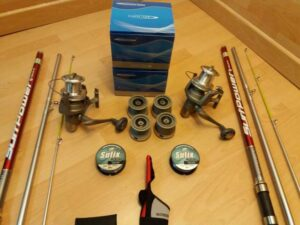 kit de pesca señuelos 5