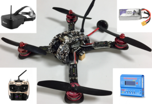 kit drone completo 4