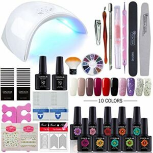 kit esmalte gel uv 1
