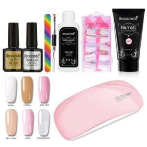 kit esmalte gel uv 2