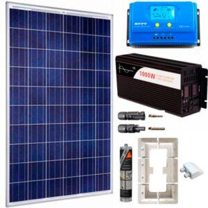 kit fotovoltaico con bateria y inversor 4