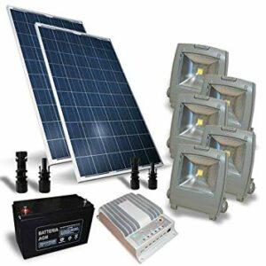 kit fotovoltaico con bateria y inversor 3