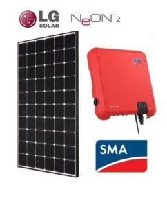 kit fotovoltaico con bateria y inversor 6