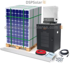 kit fotovoltaico con bateria y inversor 5