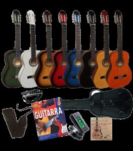 kit guitarra acustica 7