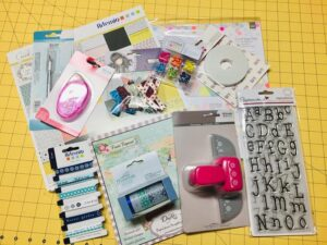kit manualidades kraft 16