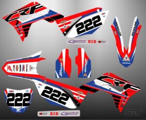 kit pegatinas motocross 17