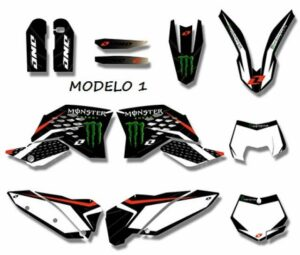 kit pegatinas motocross 18