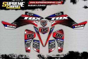 kit pegatinas racing 13