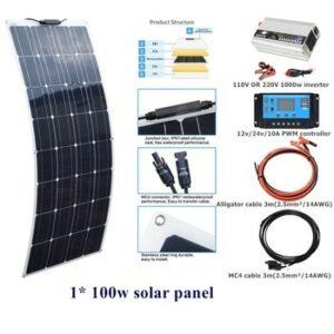 kit placas solares flexibles 2