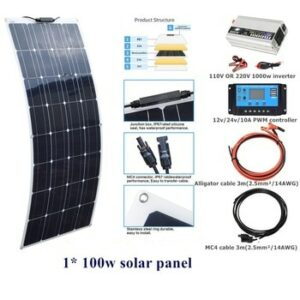 kit placas solares 1500w 2