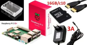 kit raspberry pi 4 modelo b 4gb 3