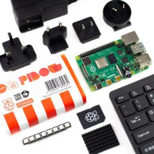 kit raspberry pi 4 modelo b 4gb 8