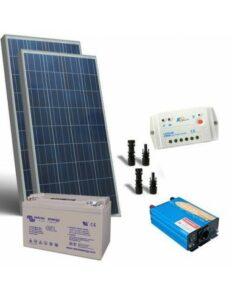kit solar 12v 10w 3