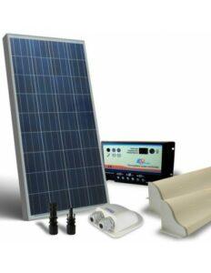 kit solar 12v 10w 5