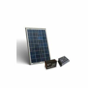 kit solar 12v 10w 6