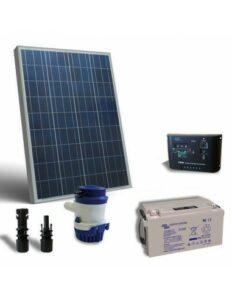 kit solar 12v 10w 10