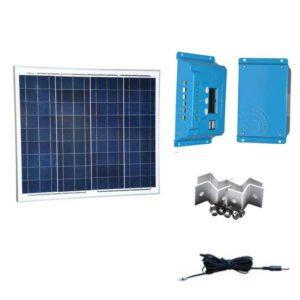 kit solar 12v 10w 8