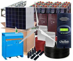 kit solar fotovoltaico 1