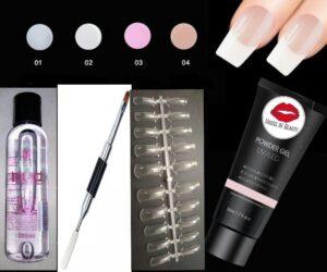 kit uñas dipping 10