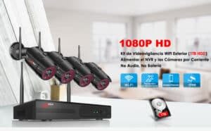 kit videovigilancia inalambrica 5
